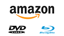 logo blu-ray dvd et amazon